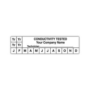 White-conductivity-label